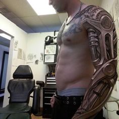 Tattoo robot machine