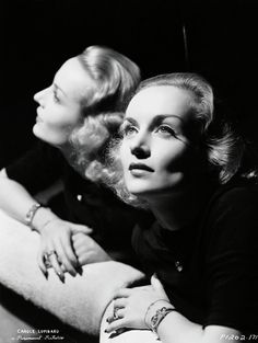 Carol Lombard; photo by George Hurrell.