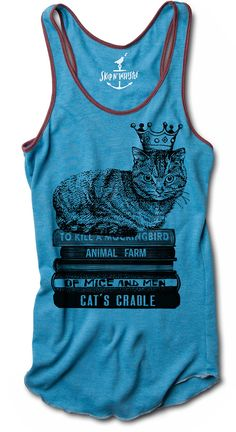 Because those of us who fall in the center of the Venn Diagram of book lover and cat lover probably need some swag to show for it.