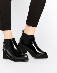 ASOS RISKY AND FRISKY Chelsea Ankle Boots