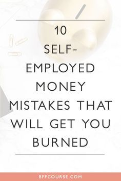 Self-Employed| Creative Entrepreneur| Accounting| Financial Tips| Small Biz| Bookkeeping via /bffcourse/