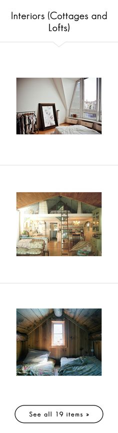 """""""Interiors (Cottages and Lofts)"""" by legg ❤ liked on Polyvore"""