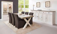 Eetkamer York - Vastiau Godeau Double Vanity, Dining Bench, Sweet Home, House Design, Kitchen, Jeanne, Inspiration, Furniture, Home Decor
