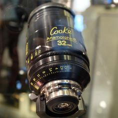 IBC 2013: More Cooke anamorphic lenses on display.