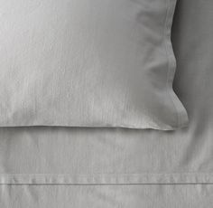 RH TEEN's Garment-Dyed Vintage Cotton Pillowcase:Nobody does casual luxury quite like Californians. Our pure cotton collection is tailored in the Golden State before it's garment dyed with environmentally friendly color, resulting in a sumptuous hand with a relaxed, linen-like texture.