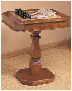 Chess Table With Storage | :: Chess U0026 Wooden Games :: | Pinterest | Chess  Table, Chess And Storage