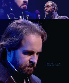 Les Miserables challenge - a graphic per song in the 25th anniversary concert: 12/47 - Confrontation