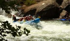 Whitewater rafting on the Ocoee River, Tennessee