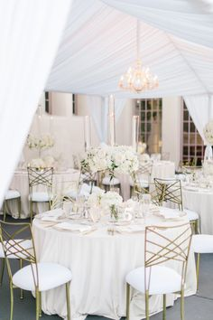 Glamorously Chic Outdoor California Wedding with All White Details - MODwedding Featured Photographer: The Grovers Photography; Marquee Wedding, Wedding Reception Decorations, Wedding Receptions, Wedding Themes, Wedding Designs, Wedding Events, Reception Ideas, Wedding Ideas, Wedding Planning