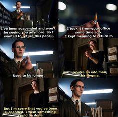 Edward Nygma and Kristen Kringle :) #Gotham Gothamtv2014