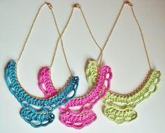 Super Bright Bib Necklaces