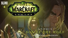 What is the price of peace? Assassins circle as Anduin reads a letter from his father, King Varian, and ponders the responsibilities of leadership. The young prince must face his fears and decide if he can defend Azeroth and keep true to his beliefs.  Written by Robert Brooks and illustrated by Nesskain, Anduin: Son of the Wolf is the fourth in a series of comics leading up to the Burning Legion's invasion of Azeroth. #WorldofWarcraft #Anduin