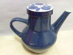 alte-Melitta-Stockholm-Kaffeekanne-Kobalt-H-B16-5x12cm-gebraucht-S25-5