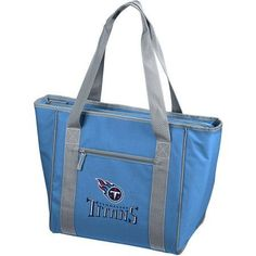 Logo NFL Tennessee Titans 30-Can Cooler Tote, Blue