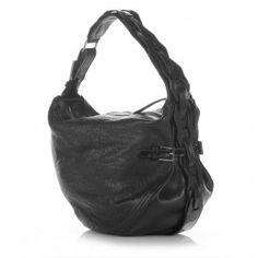 Bracher Emden Black Slouchy Bag