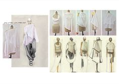 Fashion Sketchbook - fashion design development; fashion sketches; fashion portfolio // Naoya Nakayama