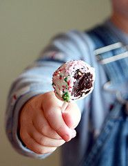 Chocolate Peppermint Cake Balls