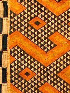 Kuba Barkclot  (think this would be an awesome quilt design)