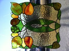 Stained Glass Art Nouveau
