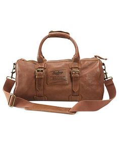 2e2118a12a Extraordinary Versions of Ordinary Things - Rawlings Vintage America Little  Slugger Leather Travel Duffle Bag Duffle
