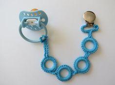 Crocheted Pacifier Holder