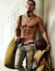 Channing Tatum... Out of pickle form ;D