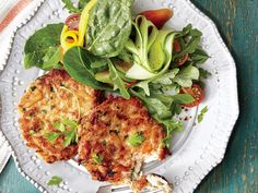 You probably have most of the ingredients on hand for these simple, elegant crab cakes; just make a quick run to the seafood market for fresh lump crabmeat. Toss together a bright, seasonal salad while the crab cakes chill. Lump Crab Meat Recipes, Crab Cake Recipes, Fish Recipes, Seafood Recipes, Cooking Recipes, Cooking Fish, Cooking Videos, Salmon Recipes, Recipes Dinner