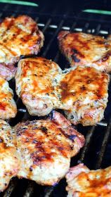 Inspired By eRecipeCards: KISS Grilled BBQ Glazed Pork Chops Keeping it Simple - Grilling Time Main Dish