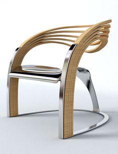Elaxa Chair by Velichko Velikov
