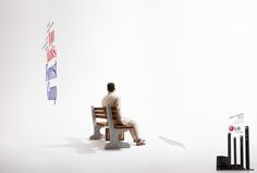 LG Different Sides Ads by Guilherme Rácz, via #Behance #Ad #Print