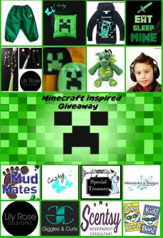 Enter to win: Minecraft Inspired Giveaway | http://www.dango.co.nz/s.php?u=z4lf5xti3378