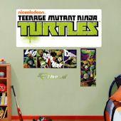 Show TMNT Wall Decals and Stickers! Teenage Mutant Ninja Turtle wall decor featuring Raphael, Donatello, Leonardo, and Michaelangelo Teenage Mutant Ninja Turtles, Cool Walls, Tmnt, More Fun, Wall Decals, Logos, Products, Wall Stickers, Logo