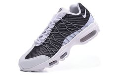 new product fdfdb 8e554 Size 9 Nike Air Max 95 Hyp PRM 20 Anniversary ULTRA JACQUARD Charcoal Grey  White
