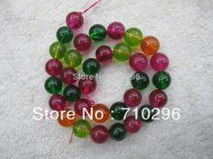 "10 strings/lot Rock Crystal Quartz 12mm Natural everlast Loose Beads Fit DIY Jewelry Bracelets 16"" #Affiliate"