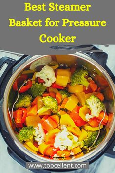 Easily adjustable with instant pot Food safe silicone handle and feet High quality stainless steel Rust-free body Also tested by my mom Pressure Cooker Reviews, Best Pressure Cooker Recipes, Instant Pot Steamed Vegetables, Steam Veggies, Steam Recipes, Instant Pot Dinner Recipes, Meal Prep Bowls, Crockpot Recipes, Stuffed Peppers