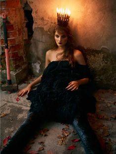 Kirsi Pyrhonen by Peter Farago for Vogue Brazil, December2012