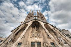 fachada de la pasión by Luis Andrei Muñoz, Sagrada Família