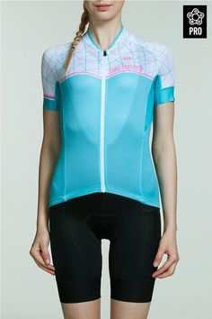 7487ee35f Comfortable and attractive light weight women road bike jerseys for summer  riding.