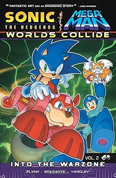 Sonic / Mega Man: Worlds Collide 2 by Sonic/Mega Man Scribes http://www.amazon.com/dp/1936975831/ref=cm_sw_r_pi_dp_Ou8Jwb1VTHS1Z