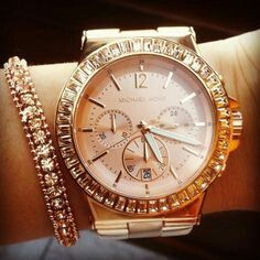 MK watch a must have ! <3