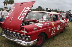 Fireball Roberts 57 Ford
