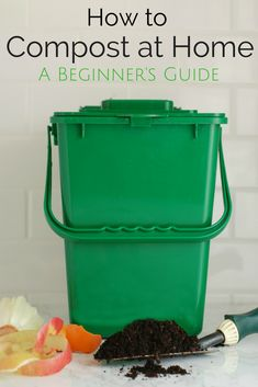 Gardening Compost - Want to repurpose your food scraps and create a no-cost, environmentally-friendly fertilizer? Here's how to compost at home. When I was growing up, I thought everyone had a milk carton under their sink filled with Organic Gardening Tips, Organic Farming, Organic Vegetables, Growing Vegetables, How To Make Compost, Making Compost, Vegetable Garden Planner, Vegetable Gardening, Organic Insecticide