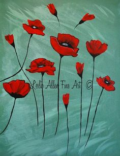 The roots of love run deep red poppy art print by sharon cummings poppy red poppies flower painting sale 50 off abstract wildflowers poppies poppy love mightylinksfo