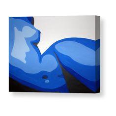 Naked Woman Canvas Print / Canvas Art by Michael Ringwalt Small Canvas Art, Mini Canvas Art, Art Sketches, Art Drawings, Deep Art, Guache, Psychedelic Art, Minimalist Art, Acrylic Painting Canvas