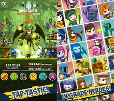 hopeless heroes tap attack hack android game hack pinterest
