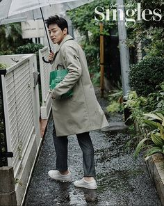 Actor Jo Jung Suk spotted dressed in his best 'boyfriend-look' outfit with 'Singles' | allkpop.com