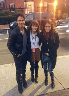 Lucky Girl with Ian Somerhalder and Nikki Reed on Boston during Girls Impact The World Film Festival (April 2016)