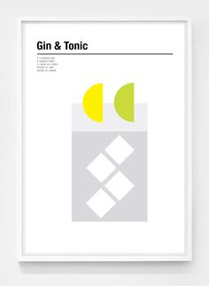 Cocktail Prints by Nicholas barclay on The Dots. Cocktail Bar Design, Drink Menu Design, Cocktail Menu, Menu Engineering, Cocktail Illustration, Swiss Design, Bar Art, Gin And Tonic, Graphic Design Typography