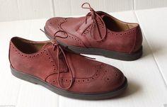 #POLO Ralph Lauren ORRICK men size 10 D red color wing tip oxford shoes NEW RalphLauren visit our ebay store at  http://stores.ebay.com/esquirestore