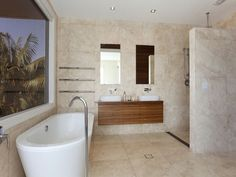 Classic bathroom design with built-in shelving using ceramic - Bathroom Photo 184401 Bath Window, Bathroom Photos, Bathrooms, Open Showers, Classic Bathroom, Build Your Dream Home, Bathroom Inspiration, Hair Inspiration, Home Reno